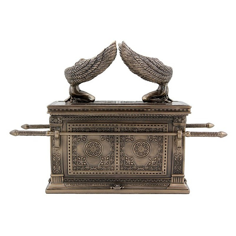 Cast Bronze The Ark of the Covenant Treasure Box