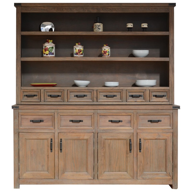 Avila Mountain Ash Timber Hutch Cabinet