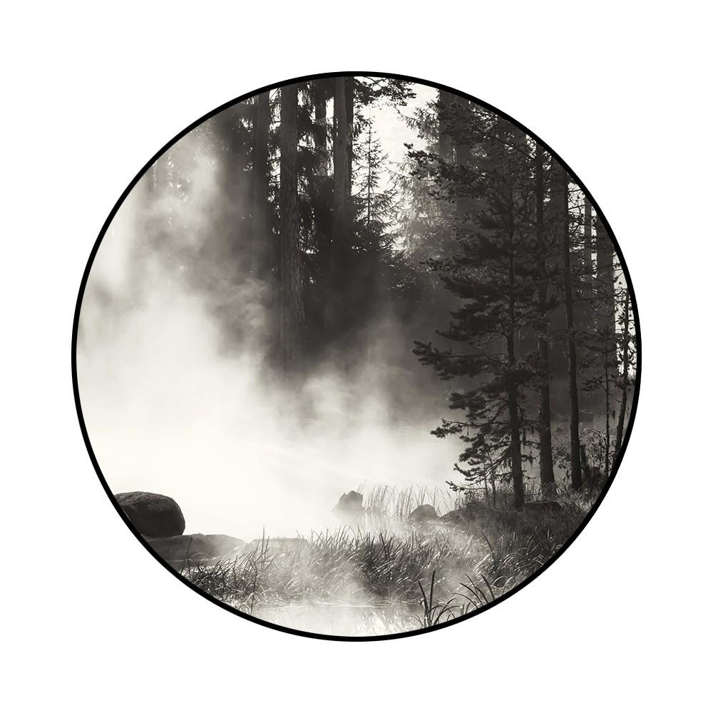 Dillon Framed Matt Surface Wall Art Print, Forest Mist, 100cm
