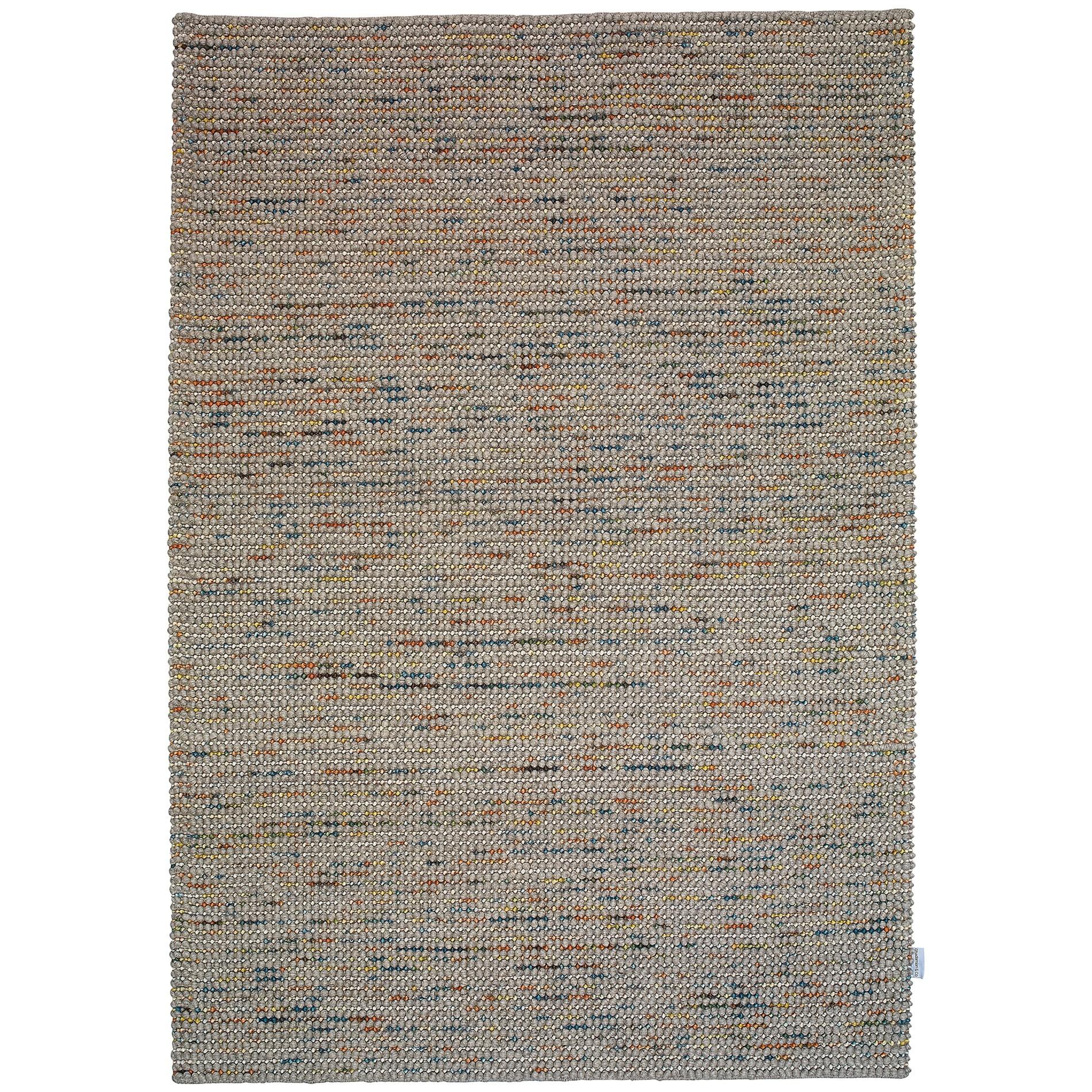 Candy No.171 Modern Wool Rug, 340x240cm, Grey / Multi