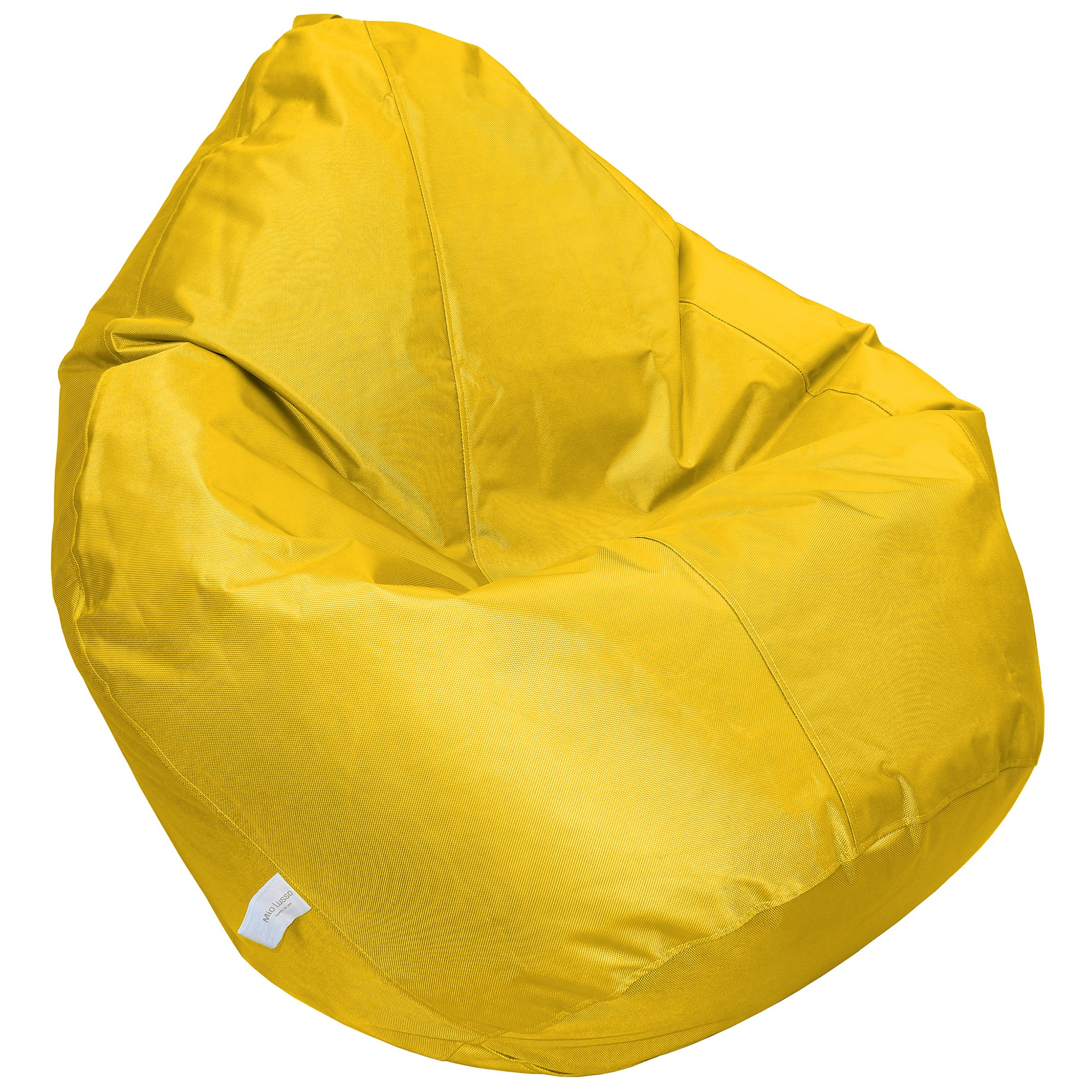Cayman Fabric Indoor / Outdoor Bean Bag Cover, Yellow
