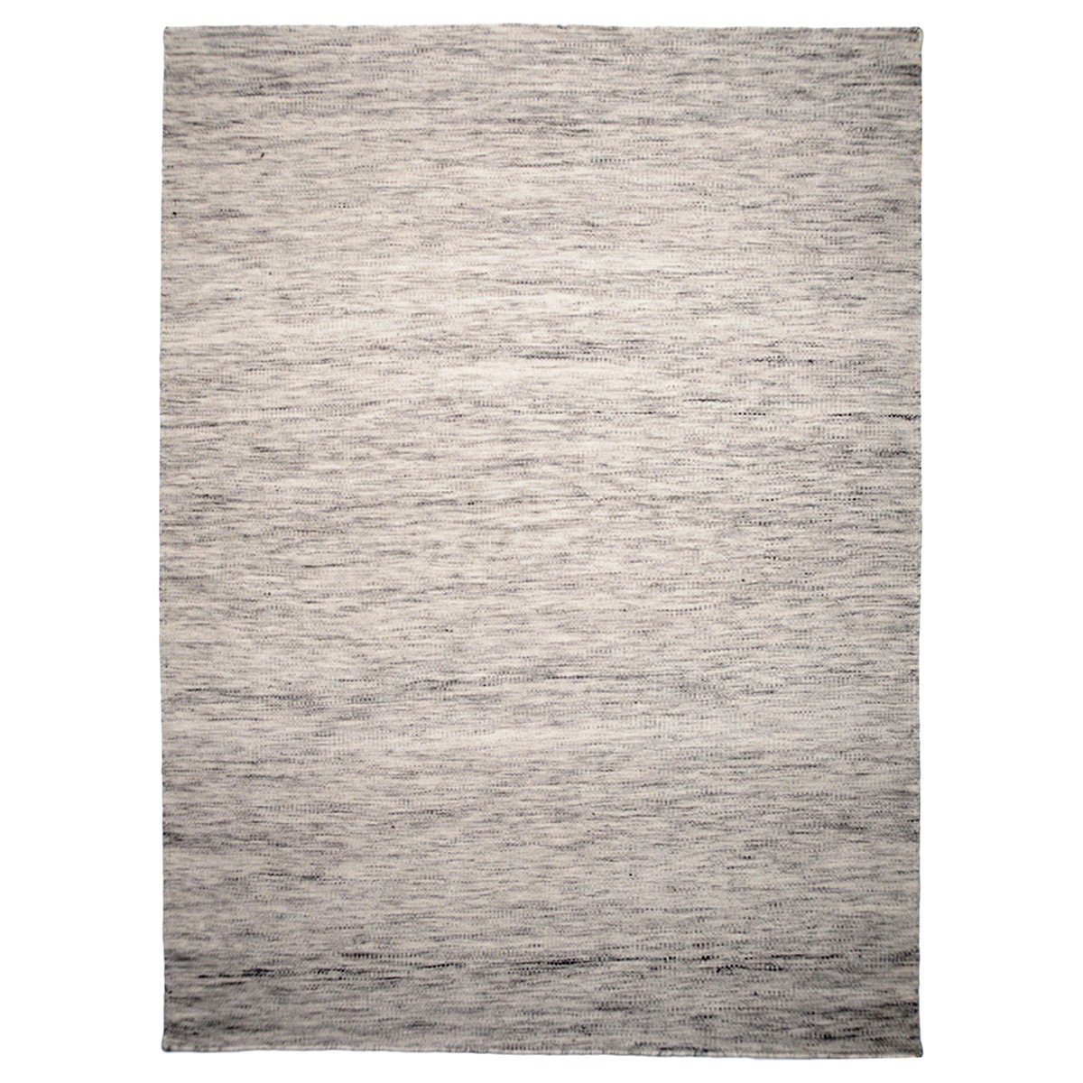 Capri Handwoven Wool Rug, 220x160cm, Light Grey