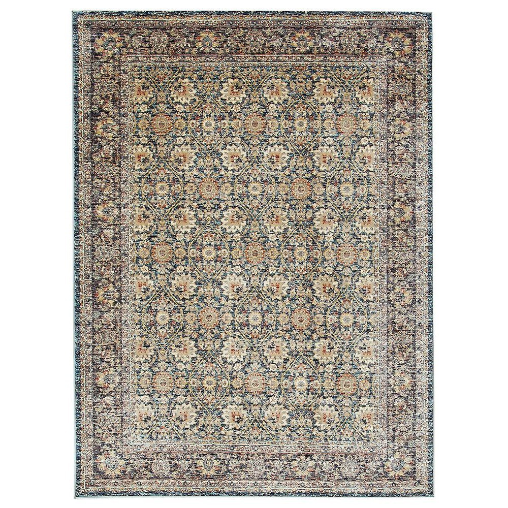 Cascade Moonlight Luminous Oriental Rug, 120x170cm