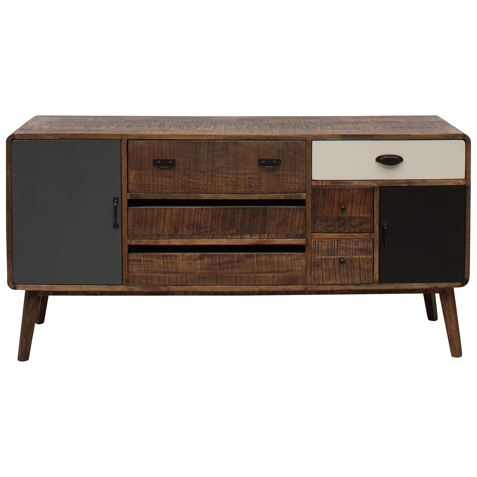 Axminster Hand Crafted Mango Wood Timber Sideboard, 150cm