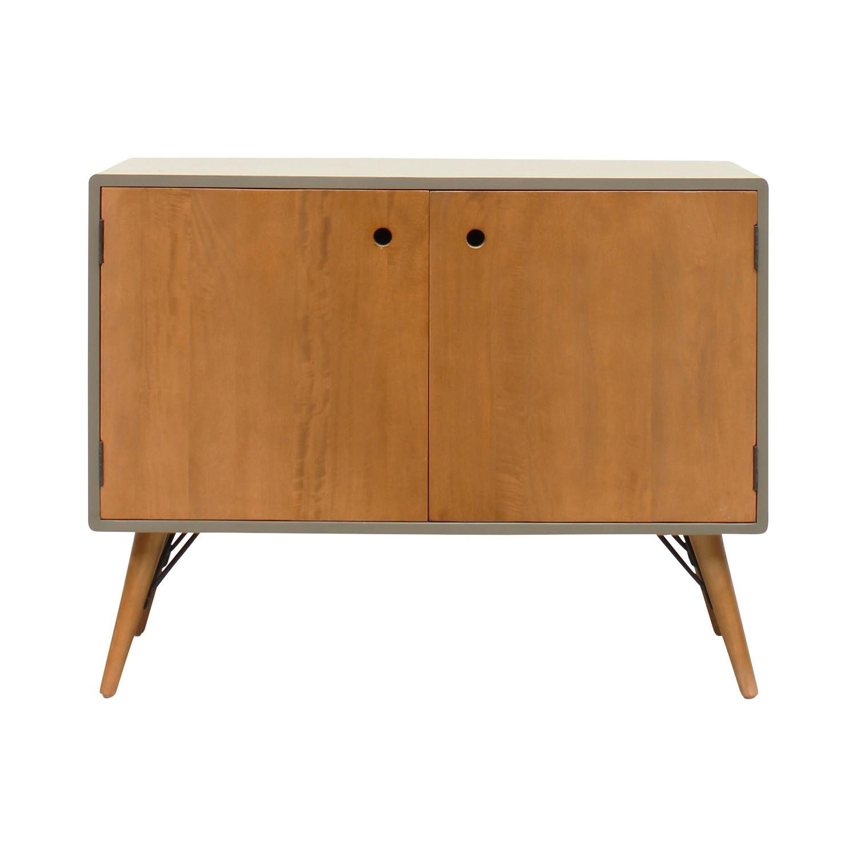 Milton Wooden 2 Door Side Cabinet, 100cm