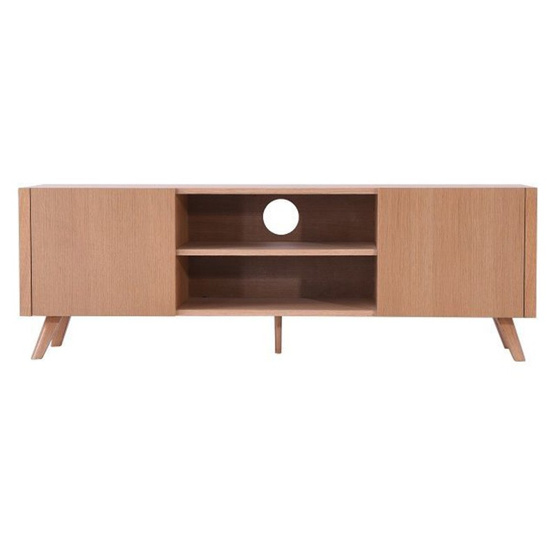 Forza 2 Door TV Unit, 160cm, Oak