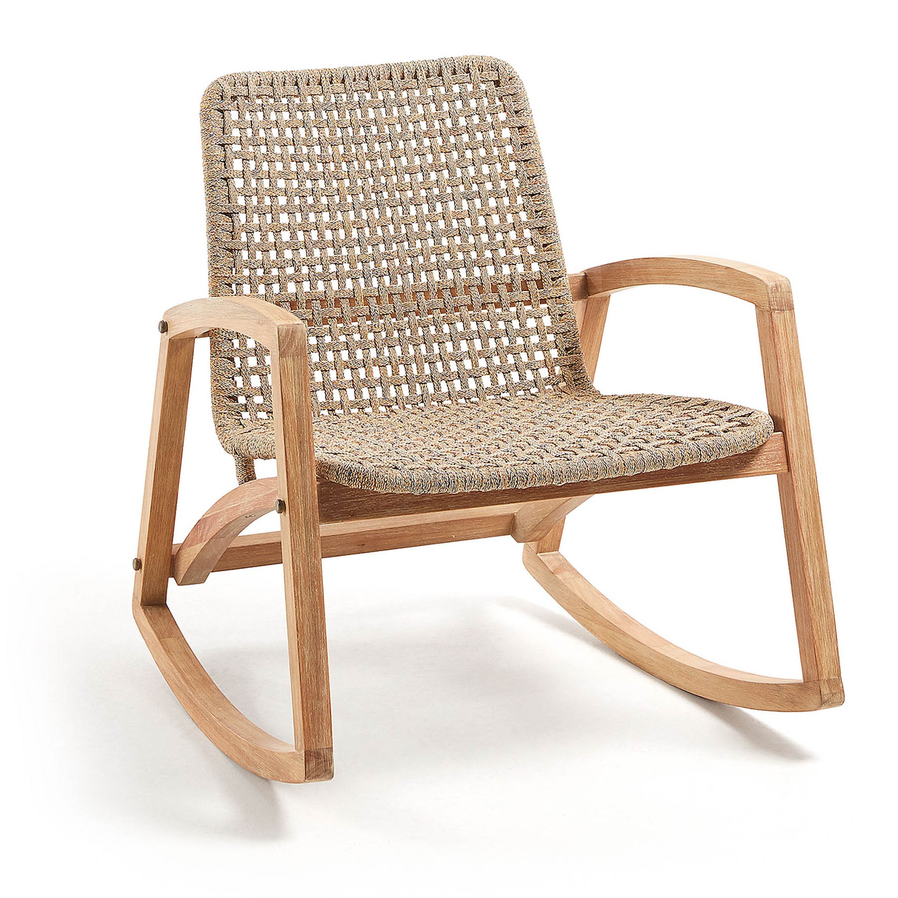 Rata Acacia Timber Alfresco Rocking Armchair