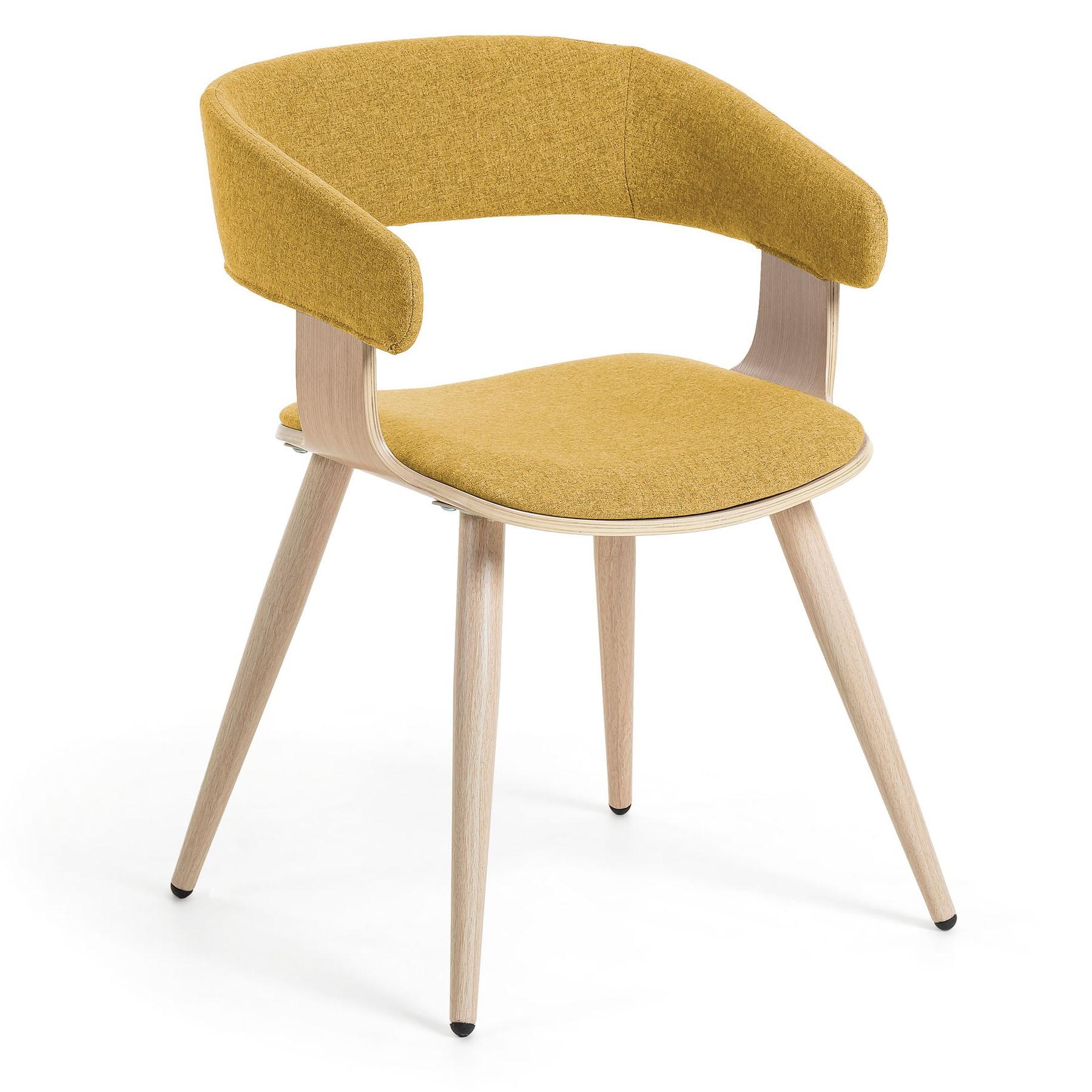 Ballarat Dining Armchair, Mustard