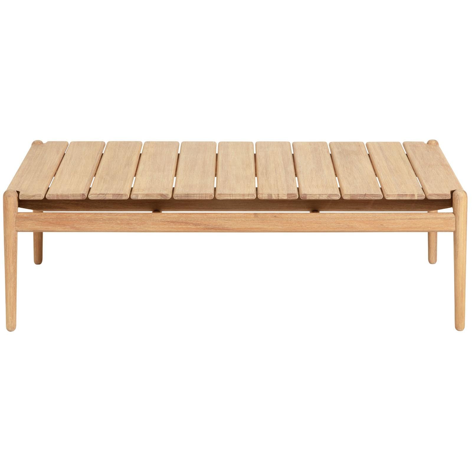 Lomond Eucalyptus Timber Alfresco Coffee Table, 117cm