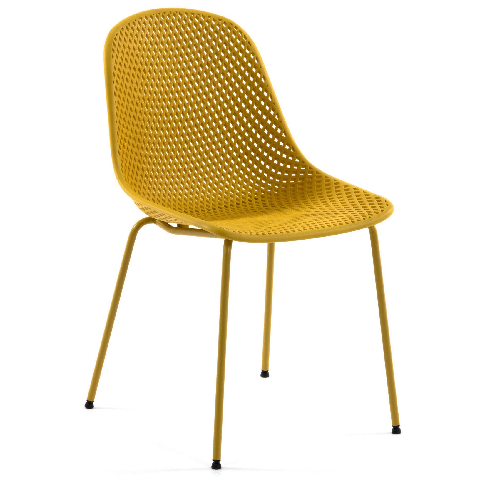 Mercer Indoor / Outdoor Dining Chair, Yellow