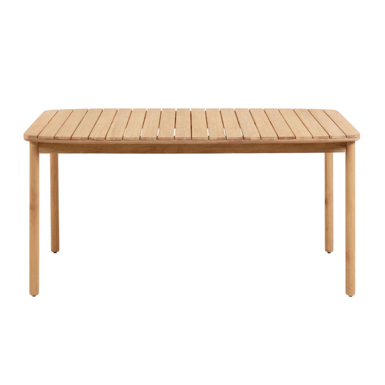 Petone Eucalyptus Timber Outdoor Dining Table, 160cm