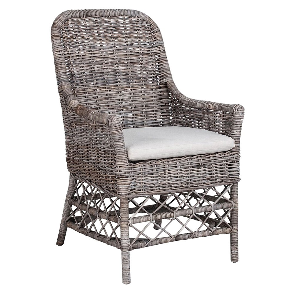 Rochelle Rattan Carver Dining Chair