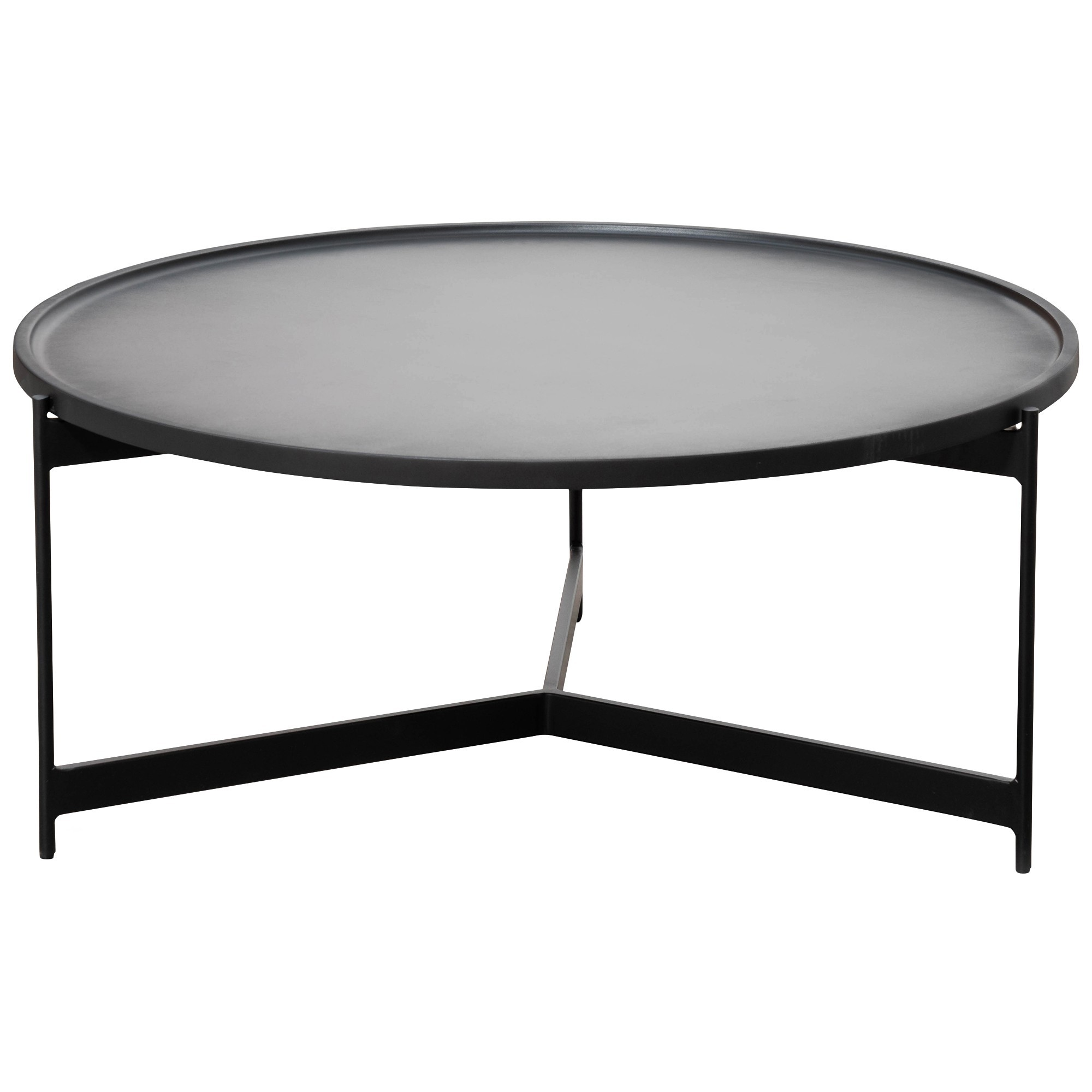 Prevelly Round Tray Top Coffee Table, 90cm