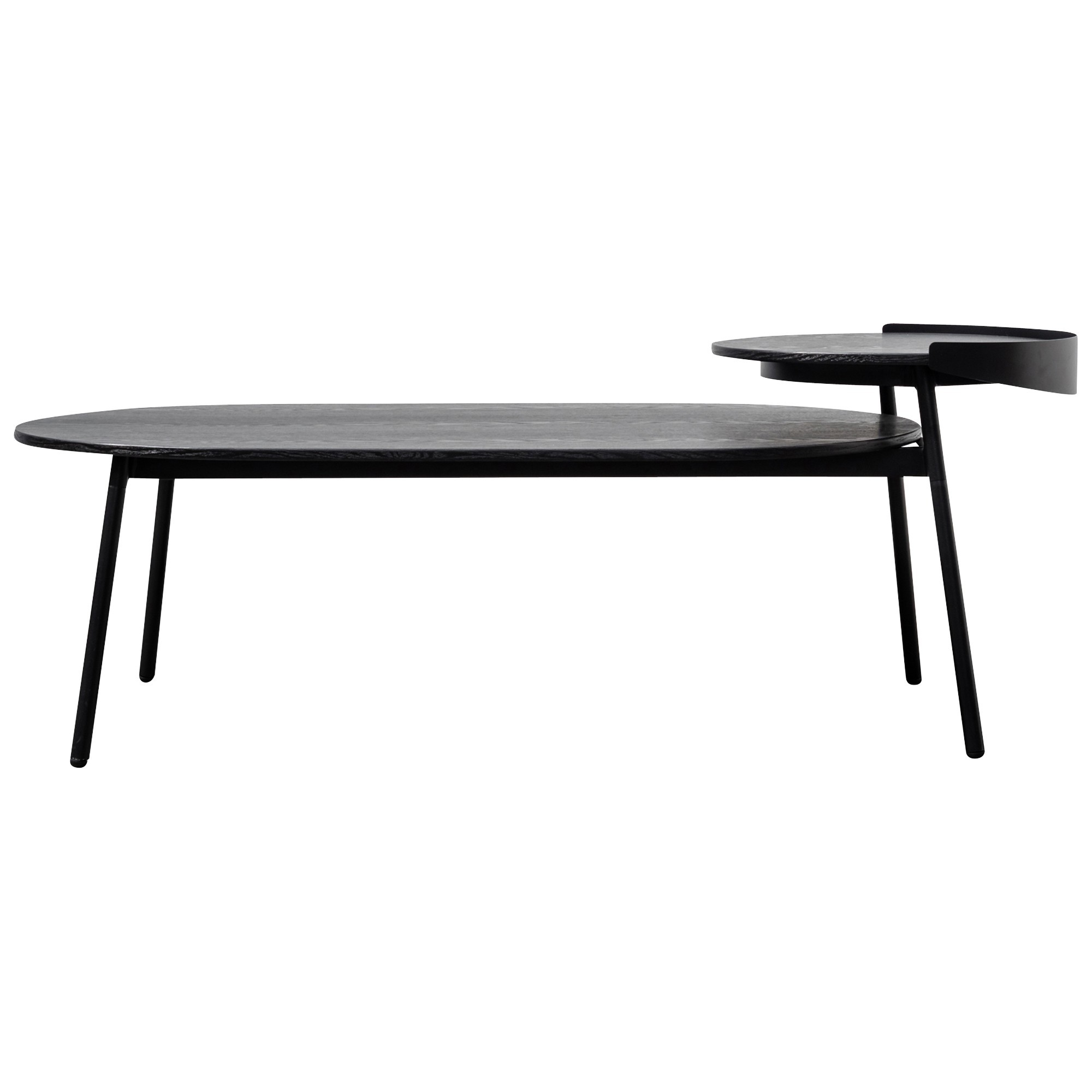Gerroa Wood & Metal Coffee Table, 147cm