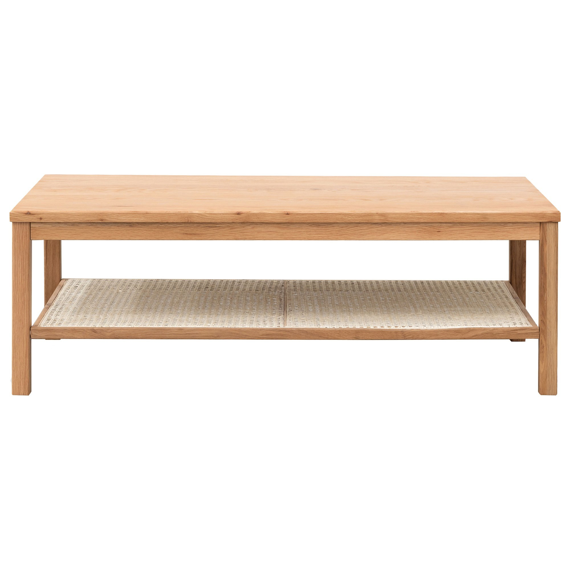Hampden Wooden Coffee Table, 119cm, Oak