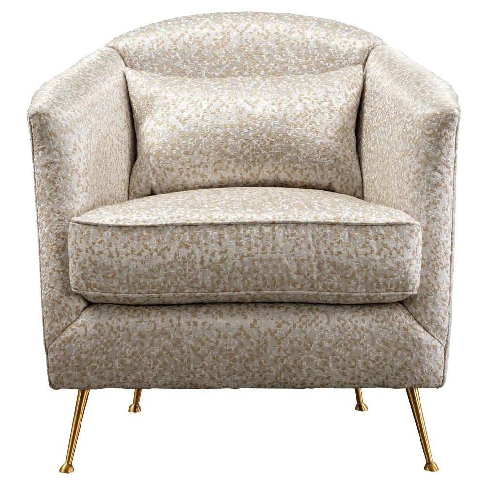 Landro Commercial Grade Fabric Armchair