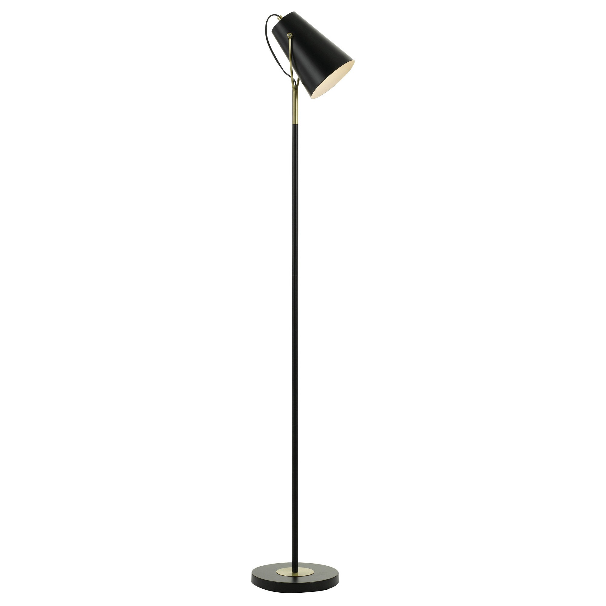 Cheviot Metal Floor Lamp, Black