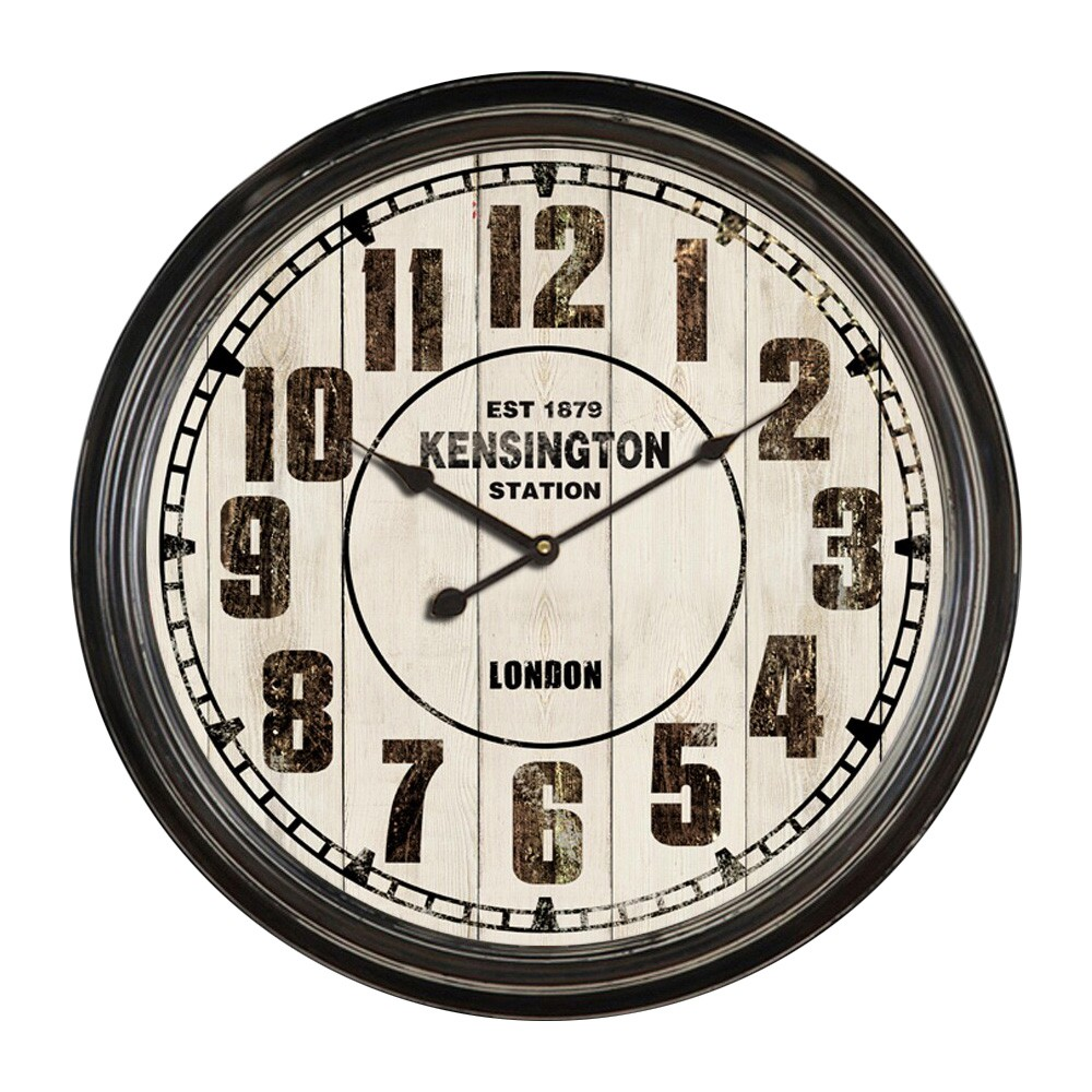 Loren Metal Round Wall Clock, 62cm