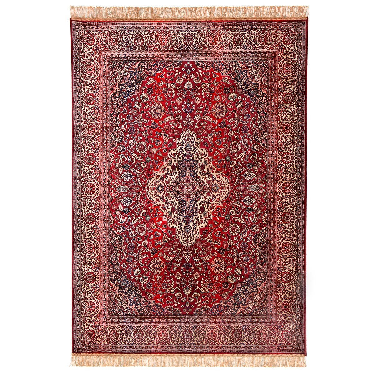 Chiraz Zelda Traditional Oriental Rug, 137x100cm, Red