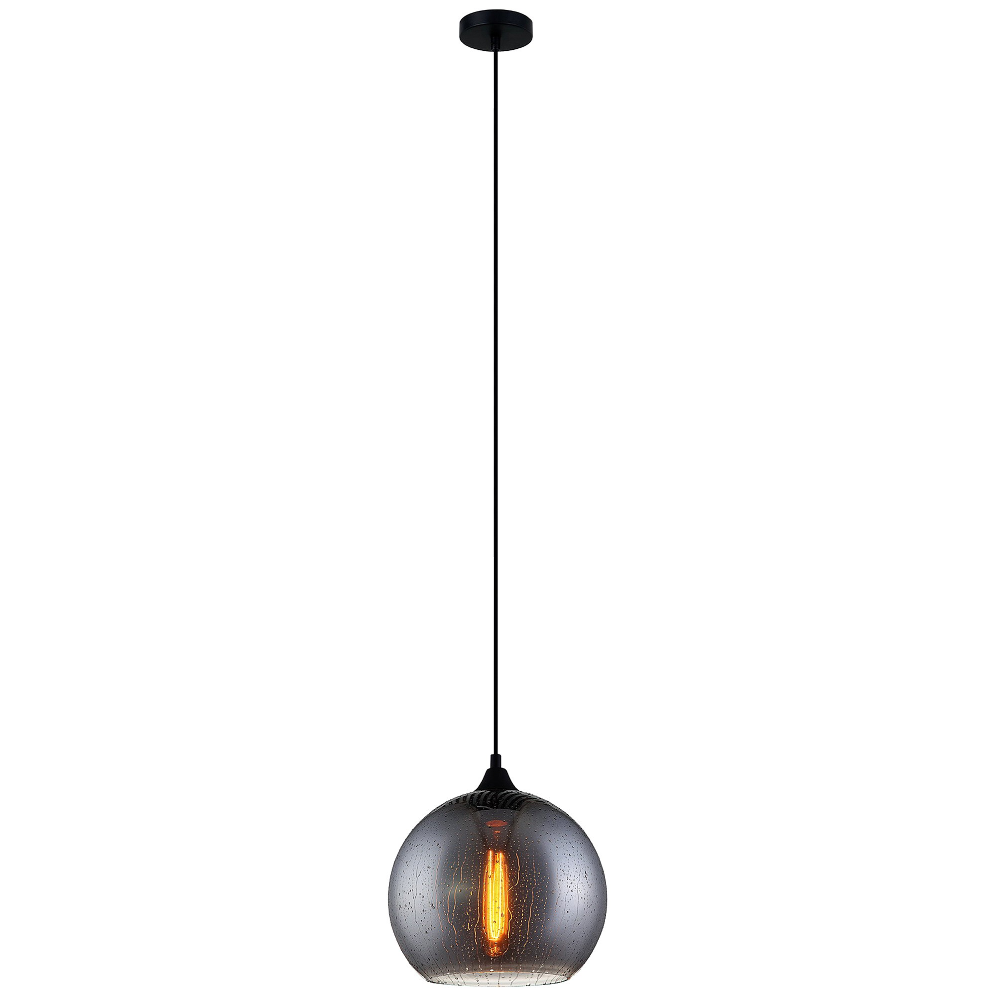 Chuva Rain Drop Glass Pendant Light, Ball