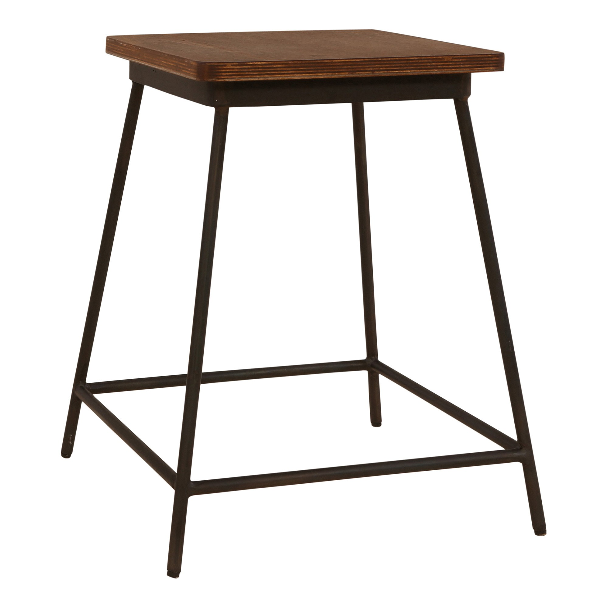 Brian Commercial Grade Metal Table Stool, Set of 2