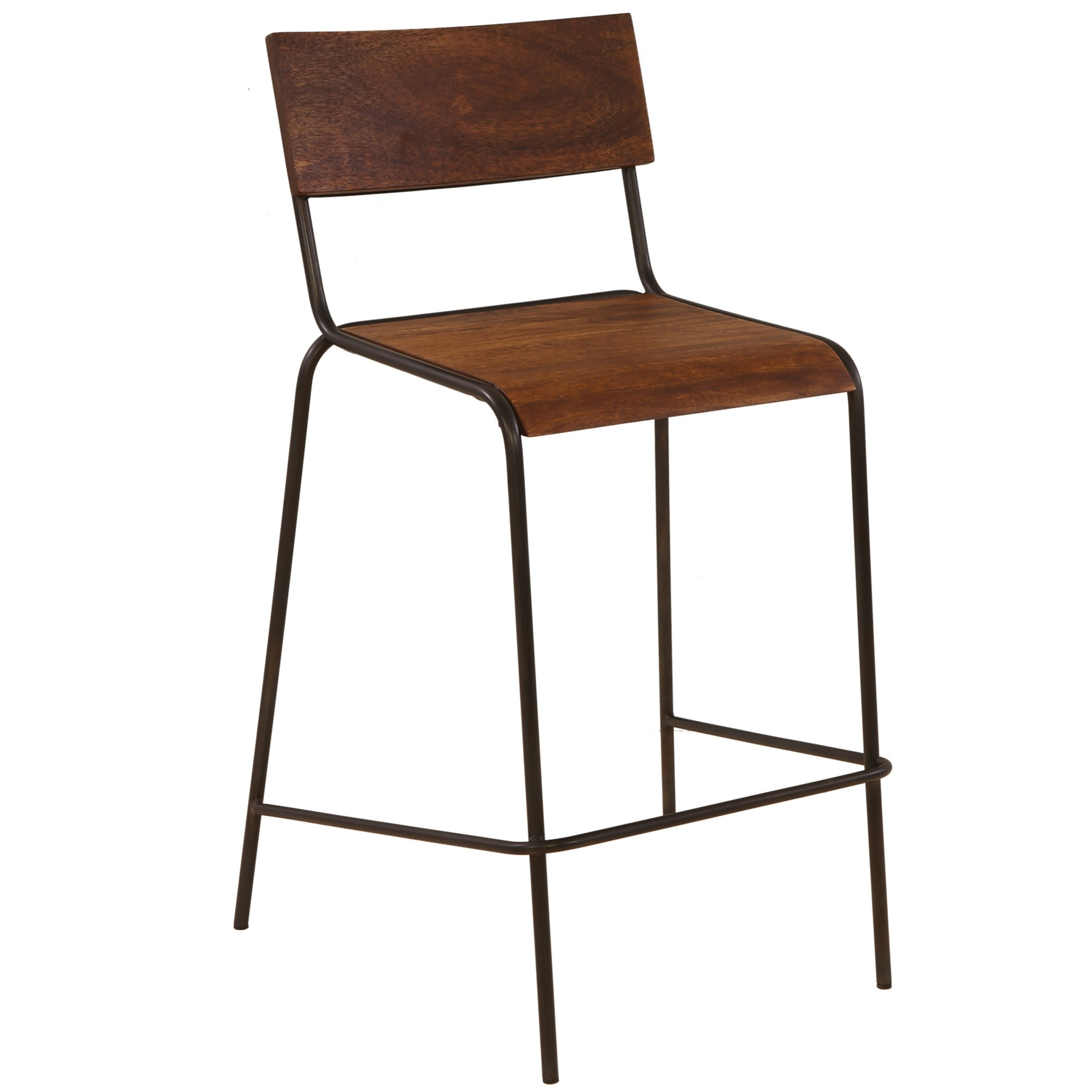 Hemsworth Commercial Grade Metal Counter Stool