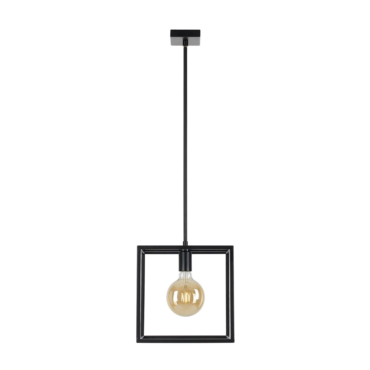 Collins Metal Pendant Light, 1 Light