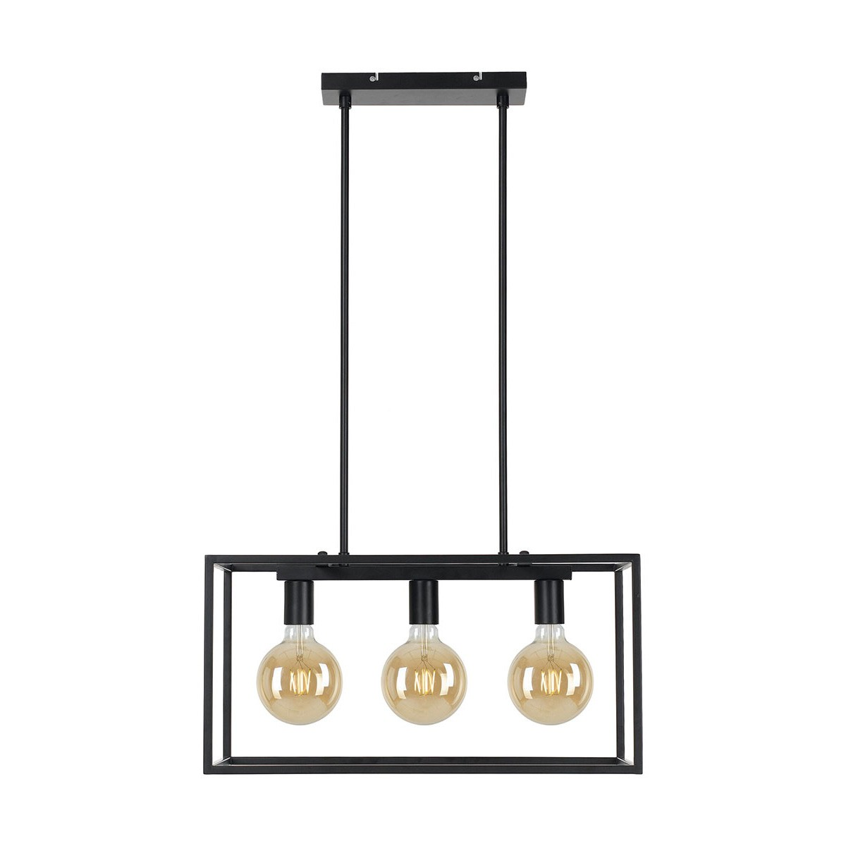 Collins Metal Pendant Light, 3 Light