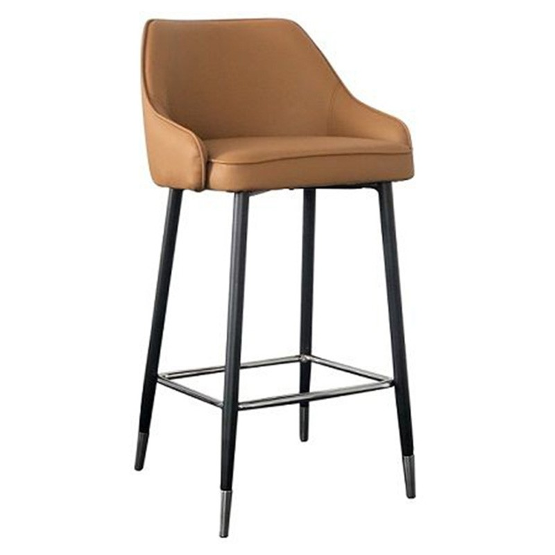 Reno PU Leather Counter Stool, Tan