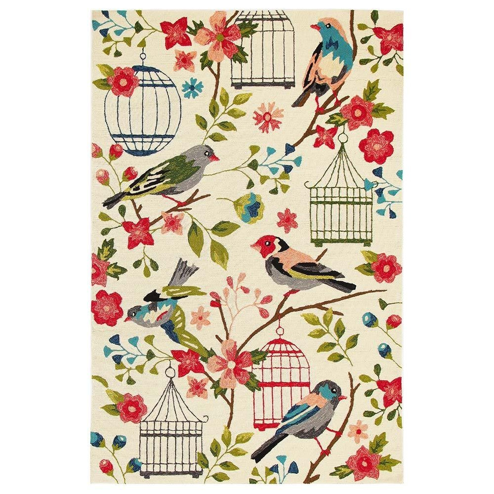 Copacabana Finch & Nest Exquisite Indoor/Outdoor Rug, 190x280cm