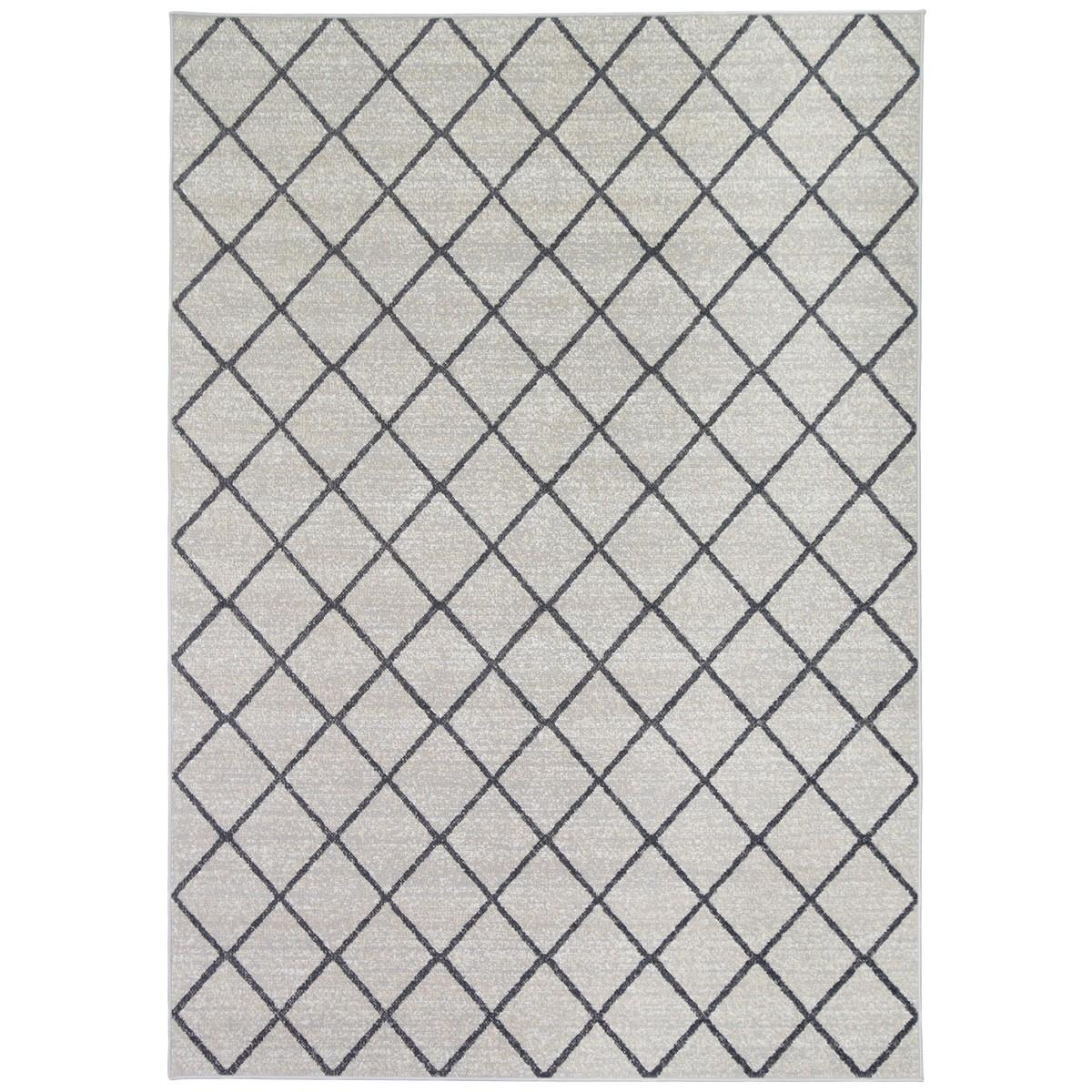 Courtyard Avleen Modern Rug, 150x80cm, Beige / Grey