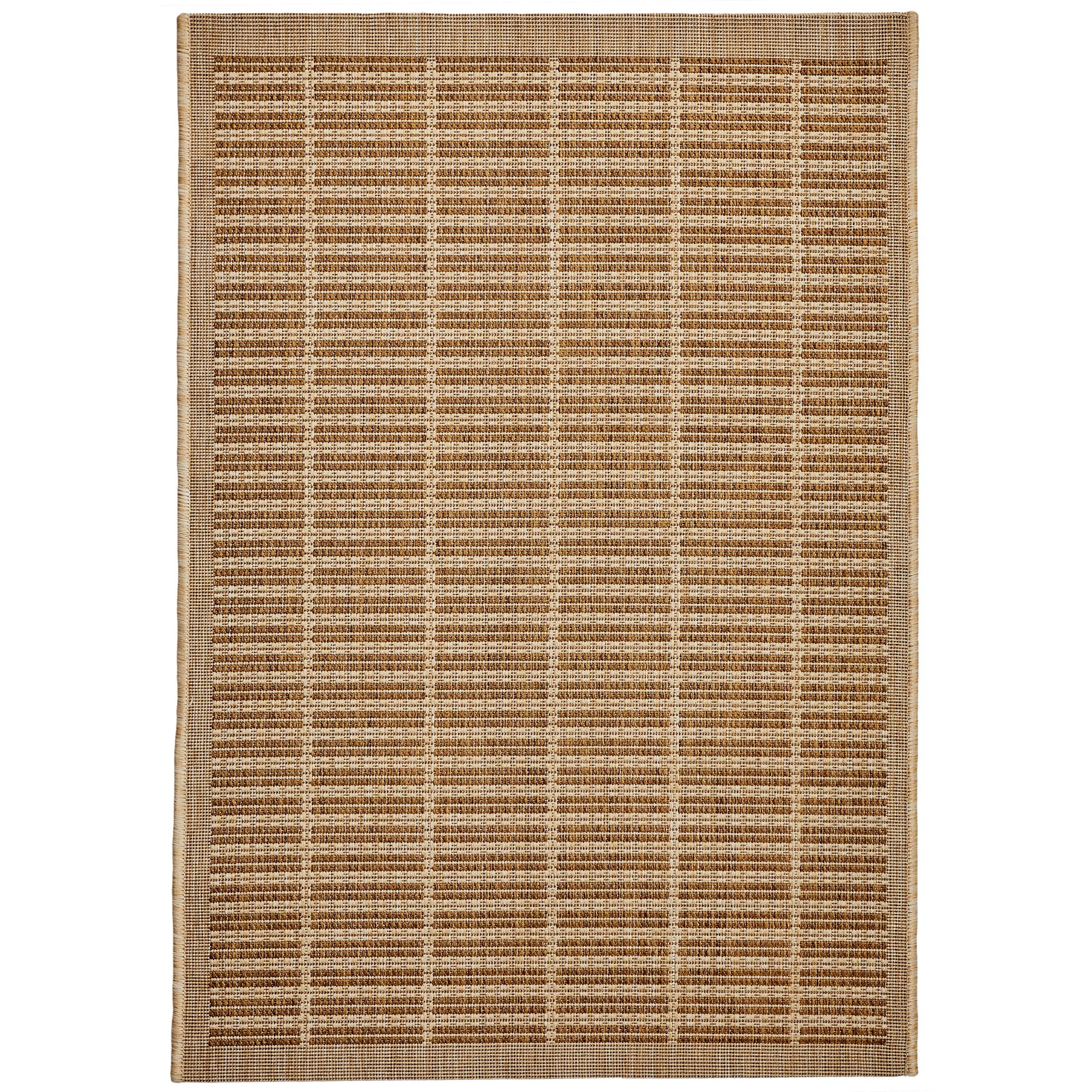 Craft No.392 Modern Indoor / Outdoor Rug, 290x200cm, Beige