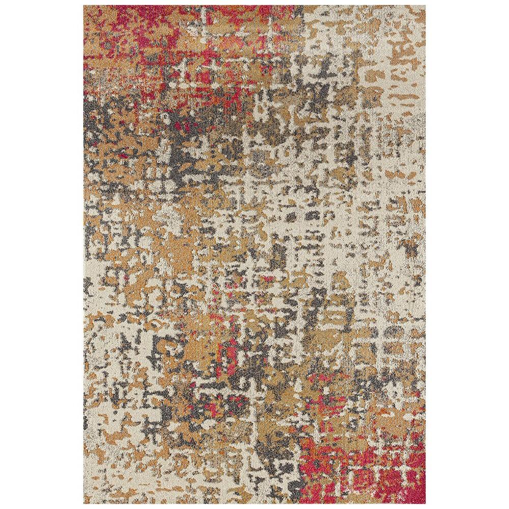 Crystal Sonia Modern Rug, 160x230cm, Fuschia
