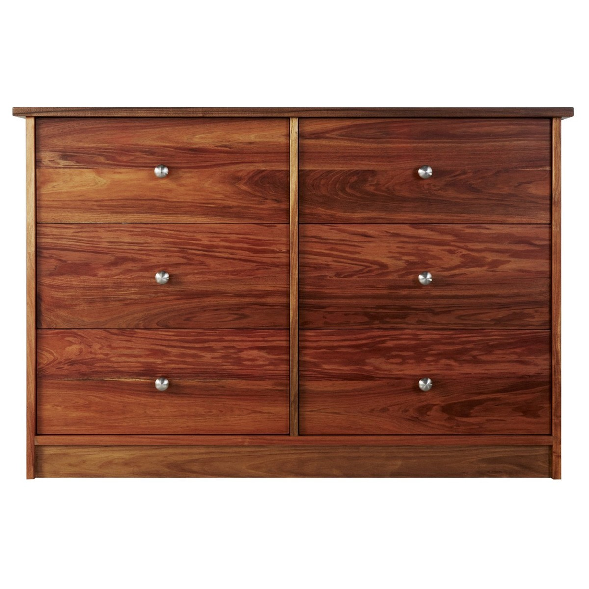 Clifton Blackwood Timber 6 Drawer Chest