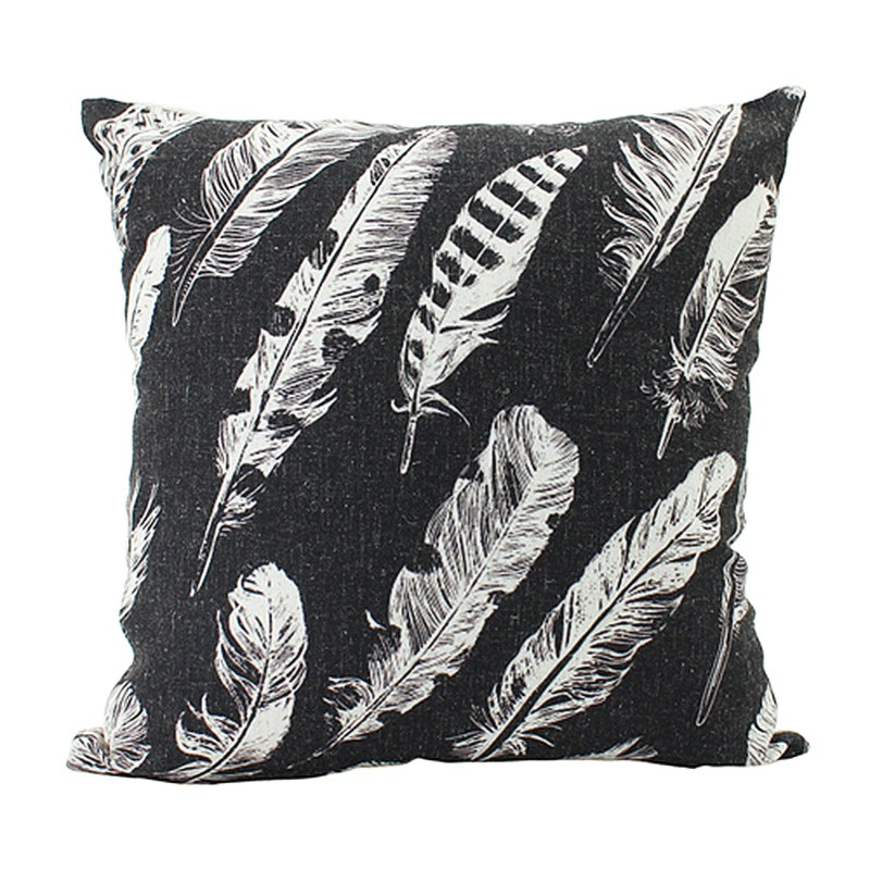 Sheathers Scatter Cushion, Black