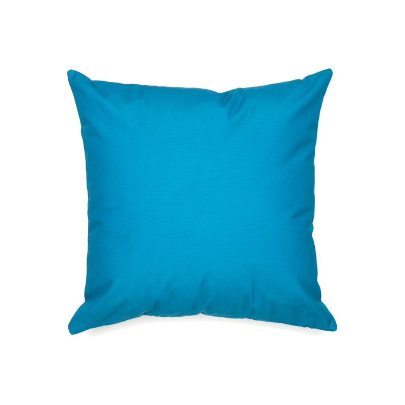 Sunny Bay Outdoor Scatter Cushion, Cerulean