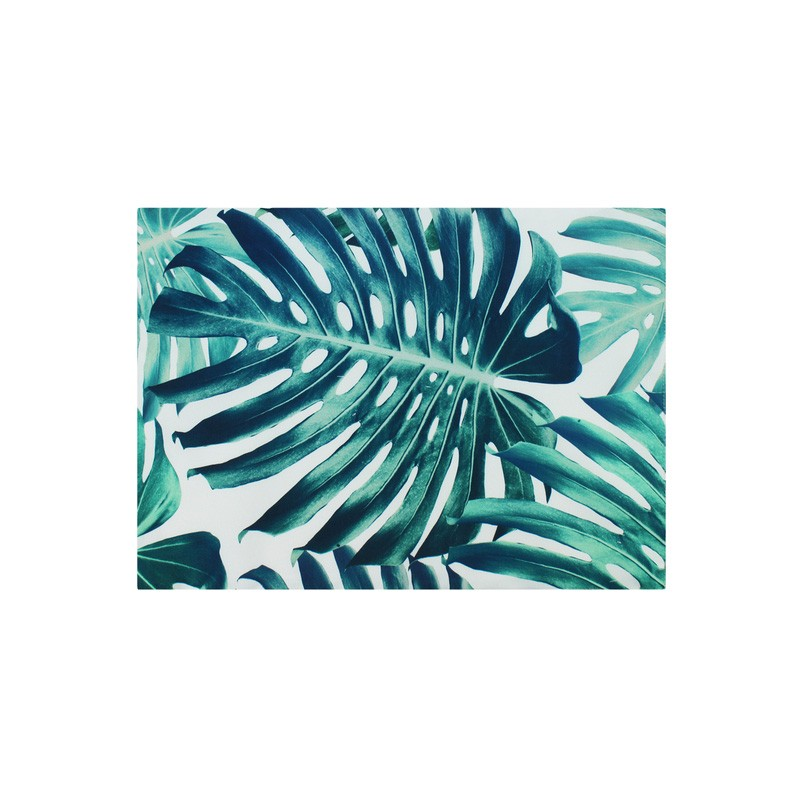 Set of 2 Monstera Indoor / Outdoor Fabric Placemats