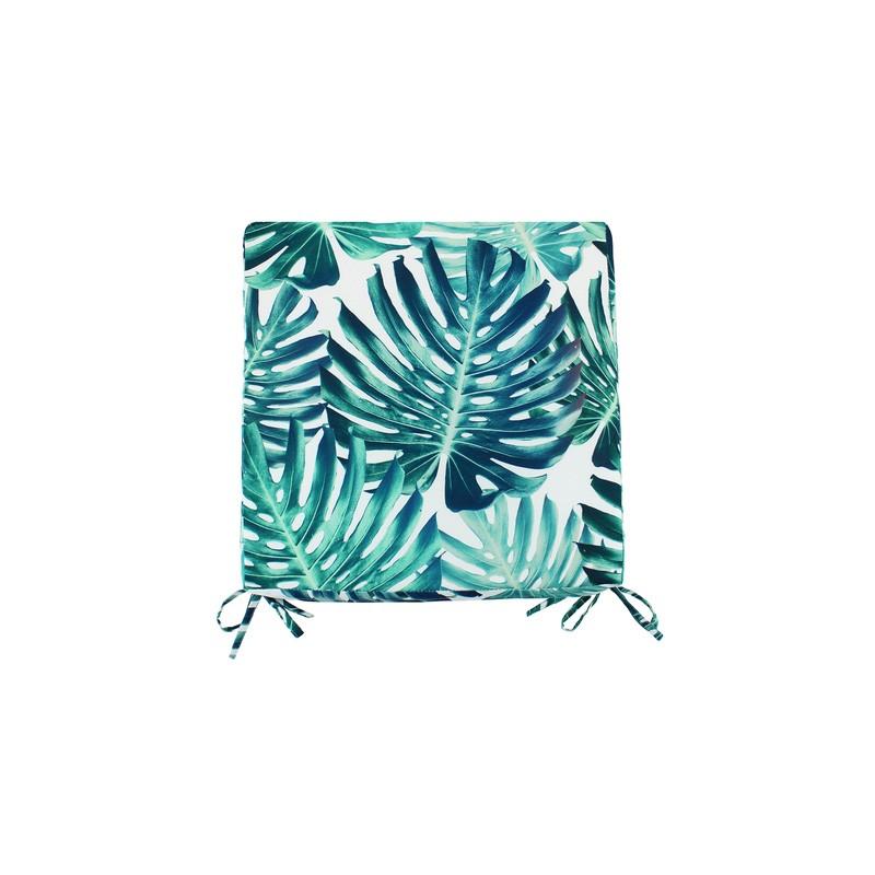 Monstera Indoor / Outdoor Fabric Seat Pad