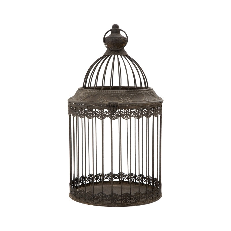 Falcon Metal Birdcage Decor, Large