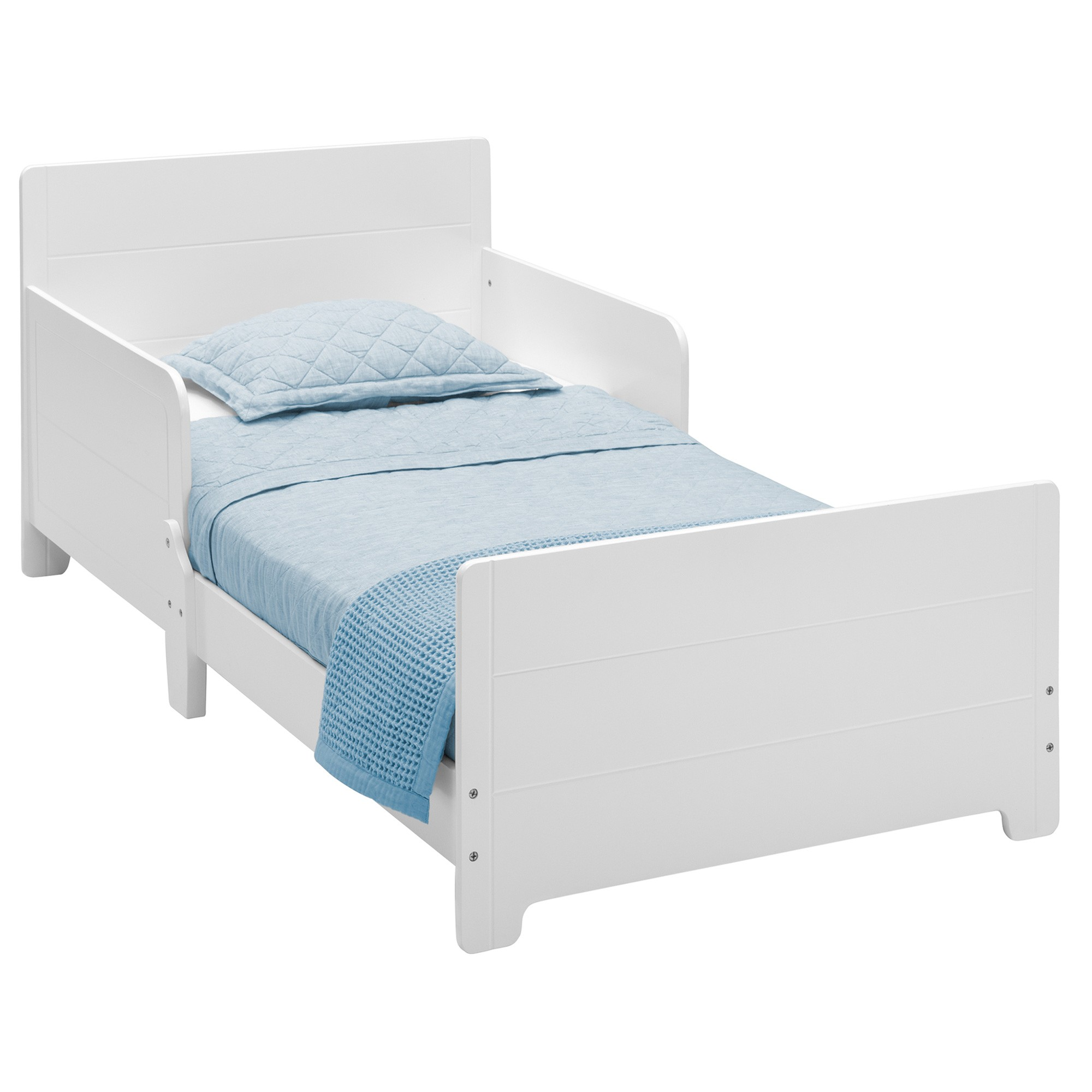 Delta Children MySize Toddler Bed, Style A, White