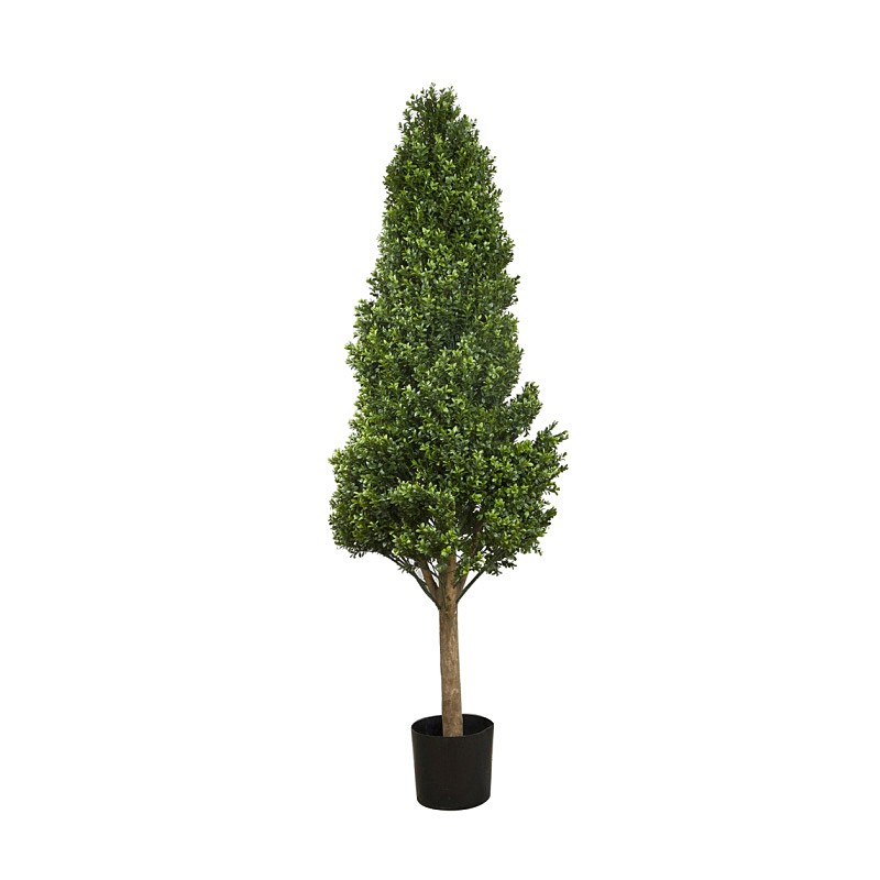 Artificial Boxwood Tower Topiary Tree, 175cm