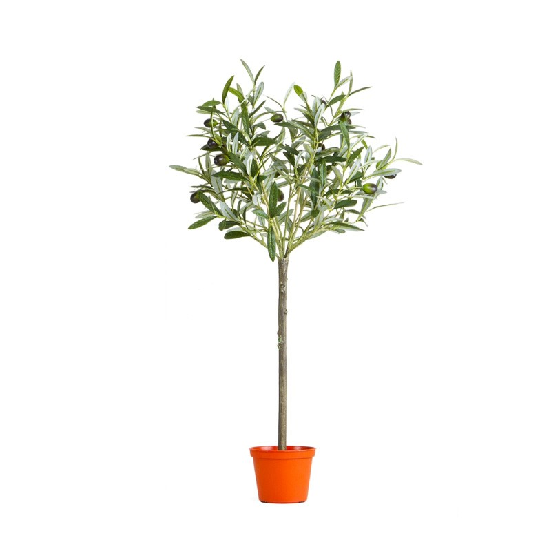 Artificial Olive Topiary Tree, 65cm