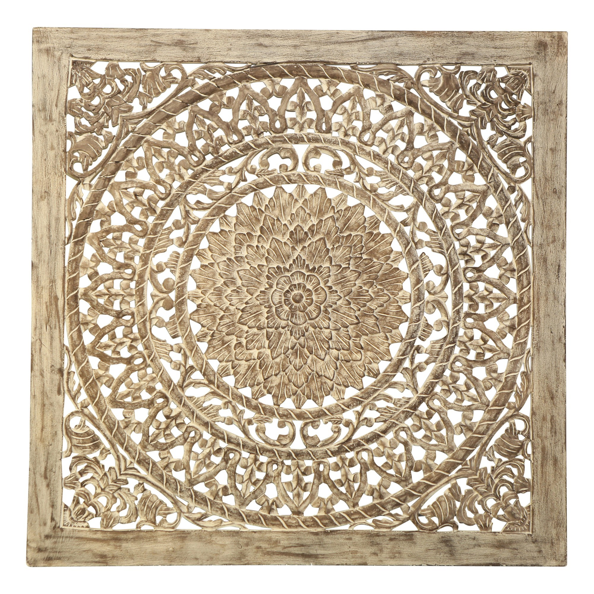 Glover Wooden Wall Decor, 120cm