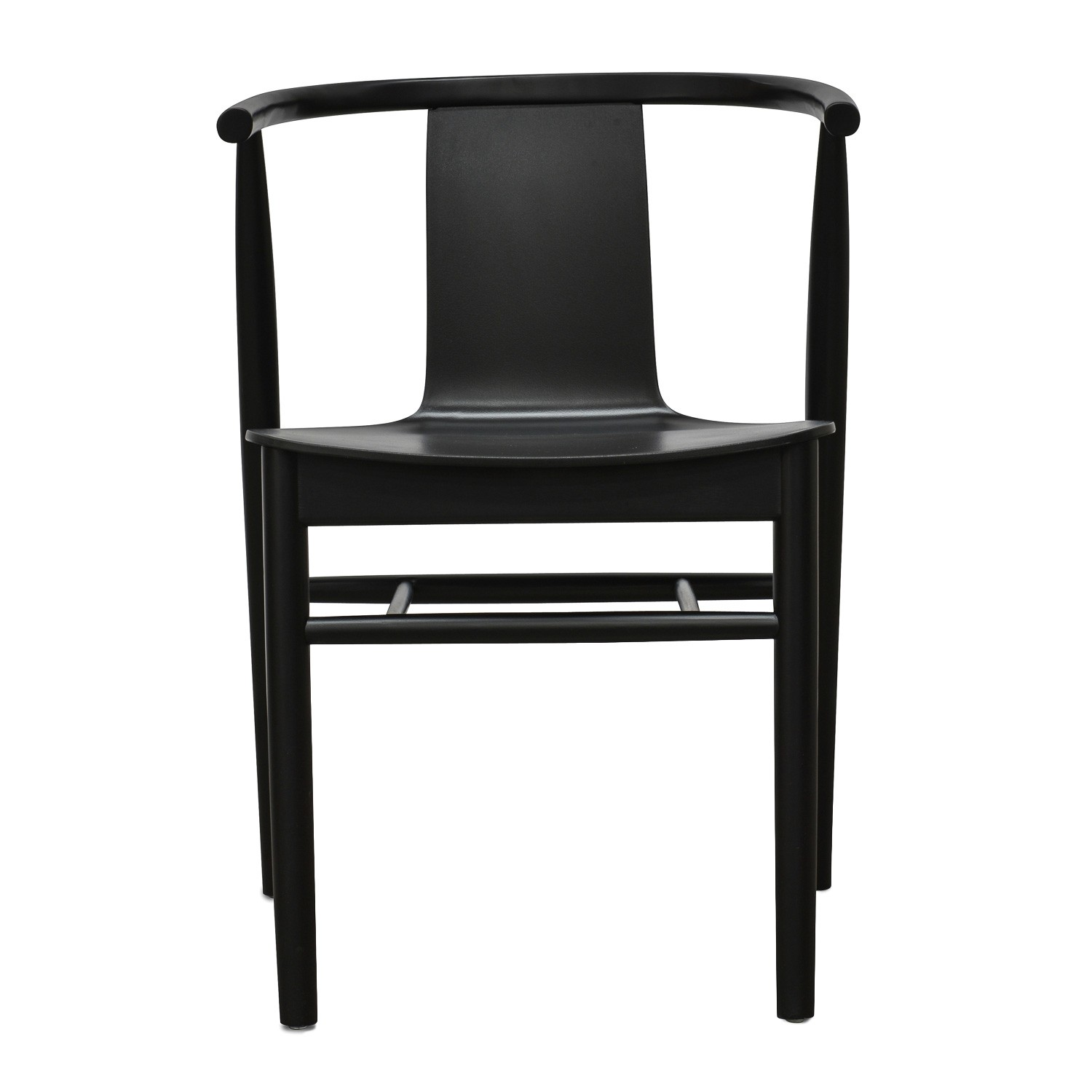 Haye Wooden Dining Chair, Black