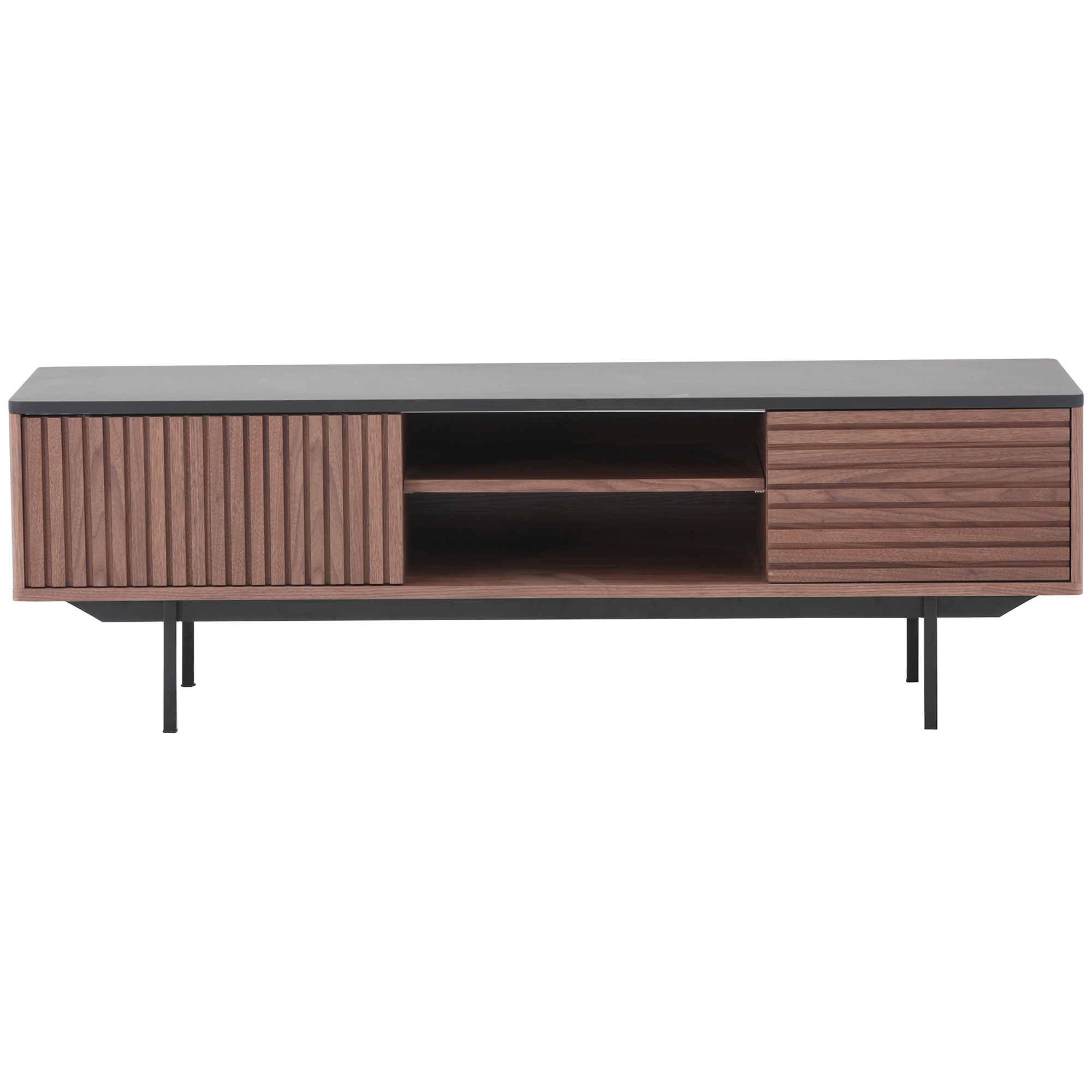 Tozzi Wood & Metal TV Unit, 160cm
