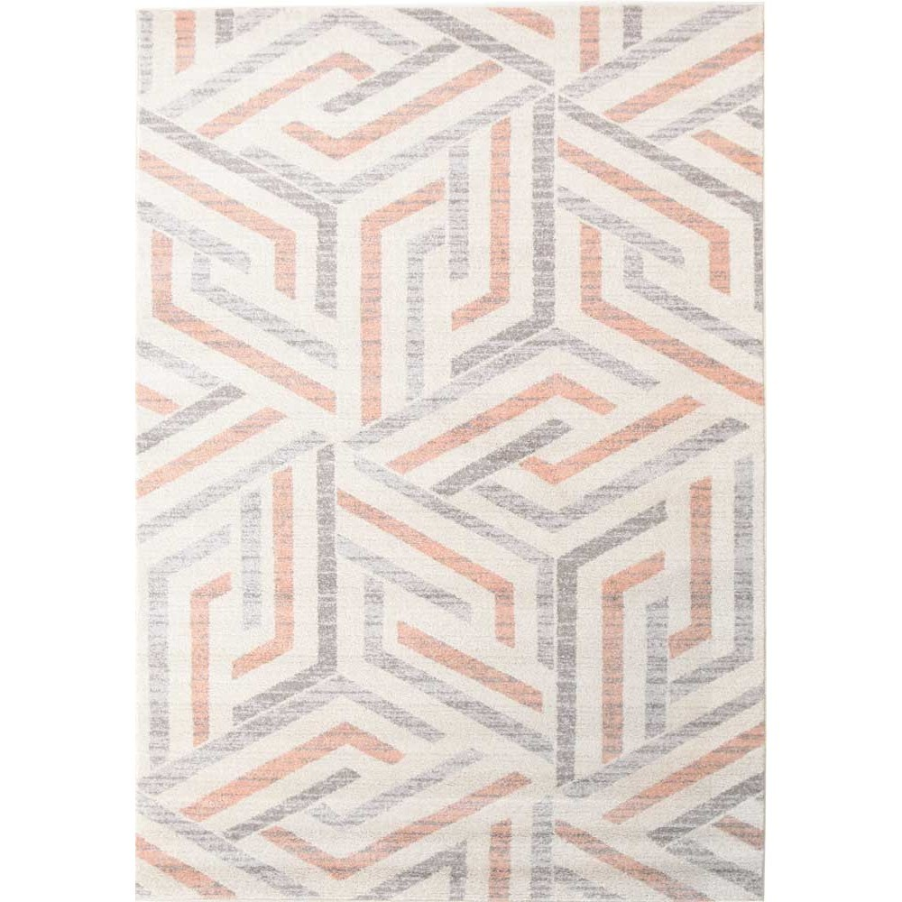 Divinity Link Turkish Made Modern Rug, 400x300cm, Pink