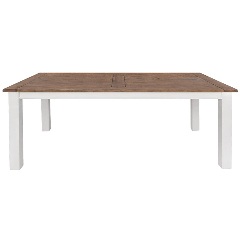 Clontarf Pine Timber Dining Table, 210cm