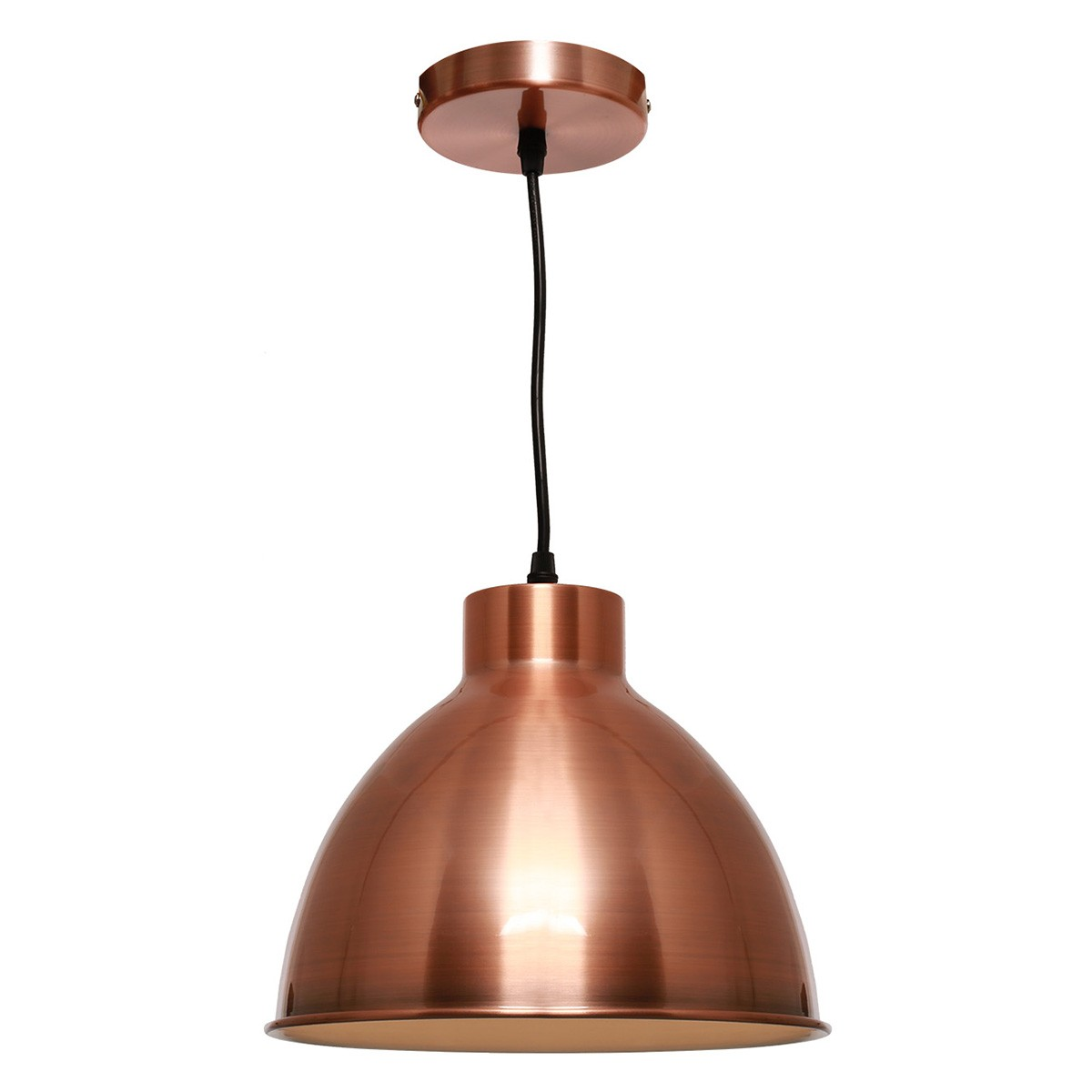 Dome Metal Pendant Lighting, Copper