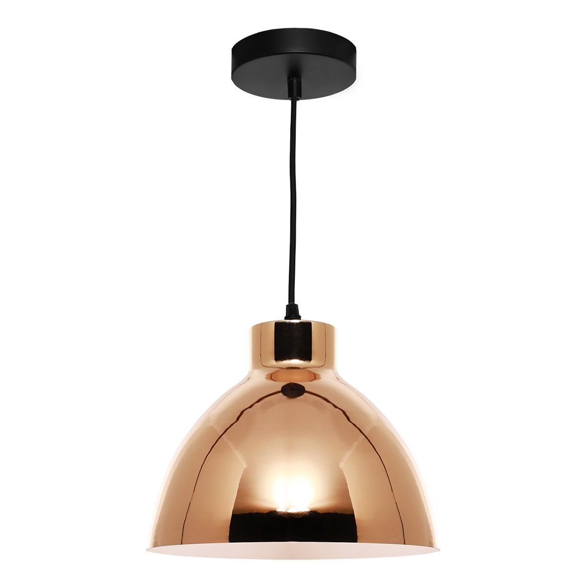 Dome Metal Pendant Lighting, Gold