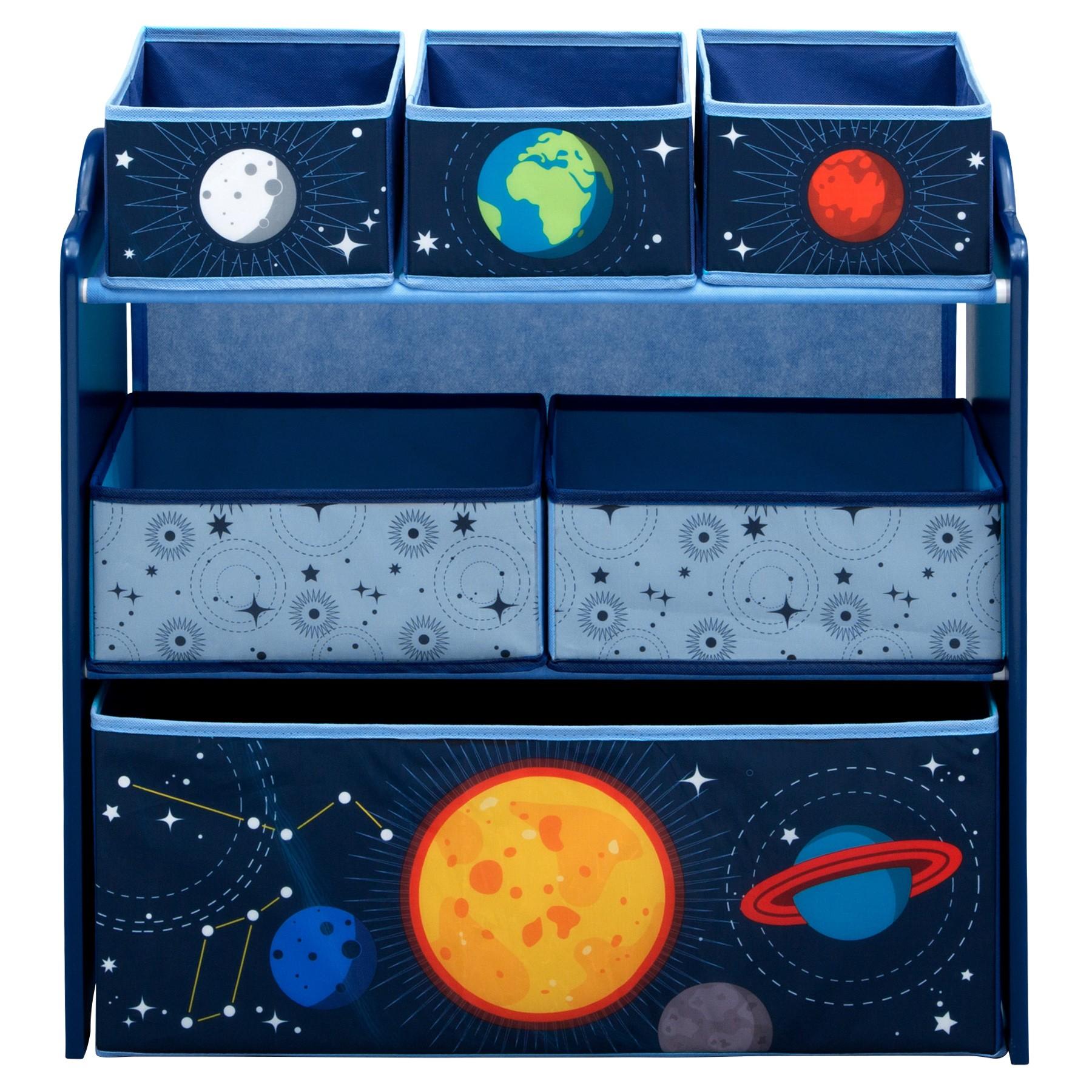 Delta Children Space Adventures Toy Organizer